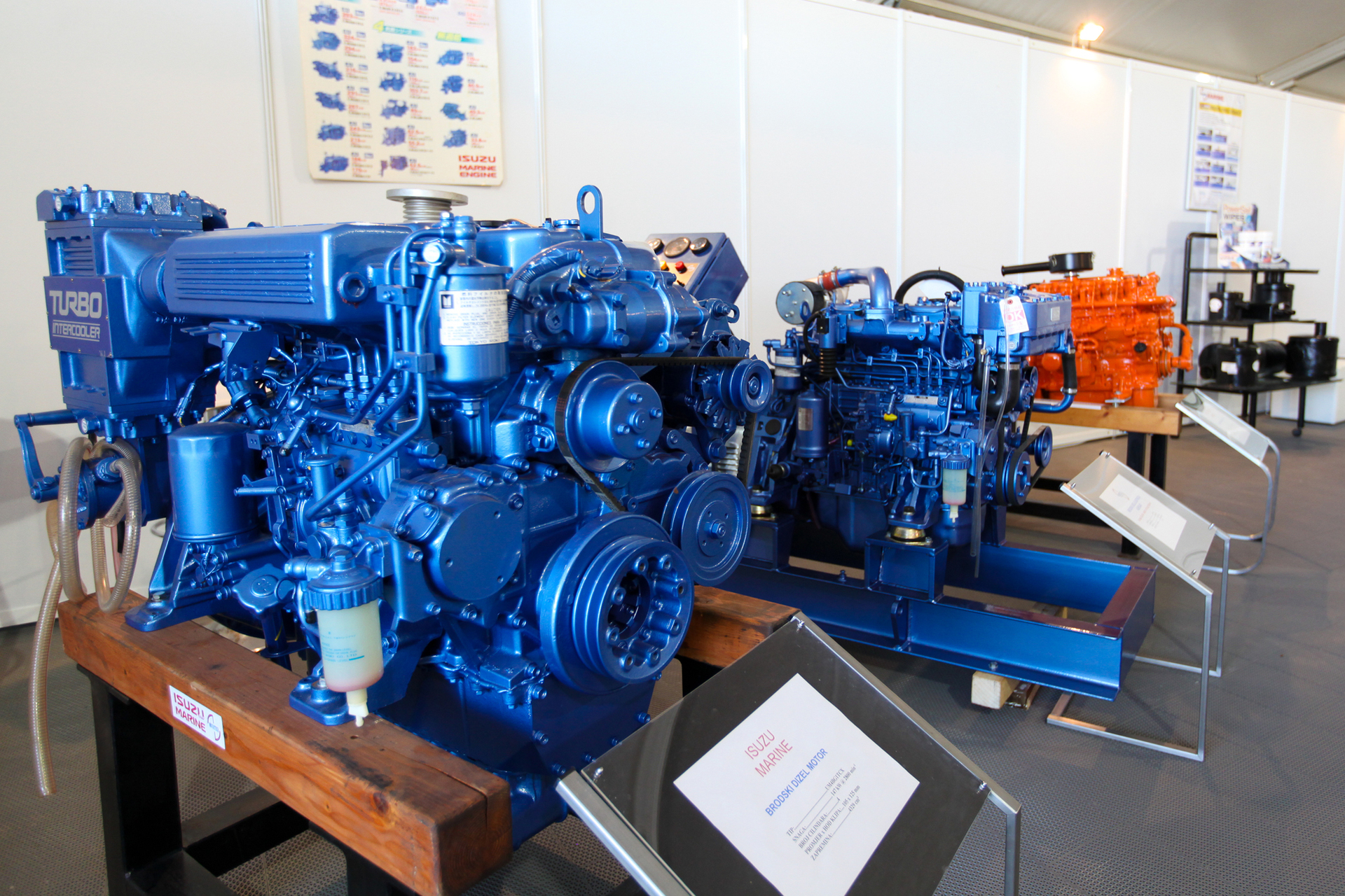 Steering and propulsion engines